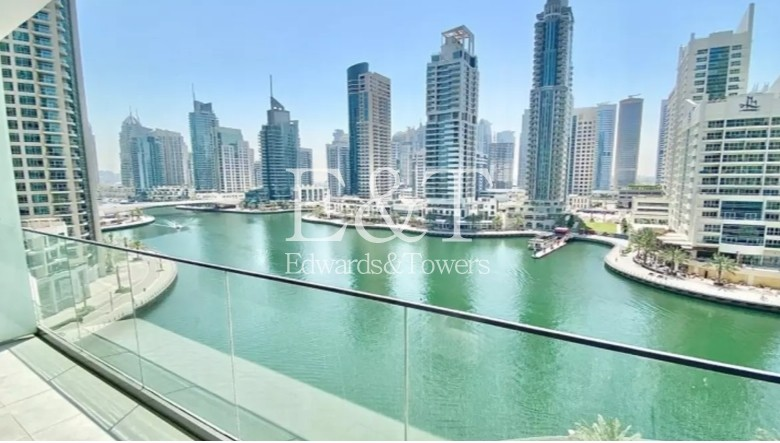 Luxury Building|King Size 2BR+Maids|Full Marina View