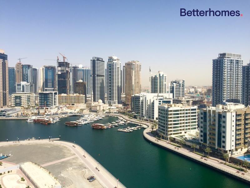 Full Marina View | 2 Parking Slots | Large Balcony | Chiller Free