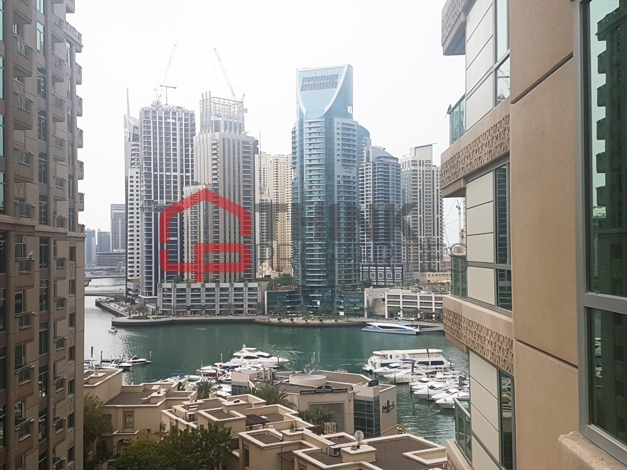 Chiller Free Huge 2 BR + Study Marina View