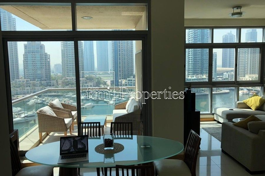 2 Bed | Full Marina view | Fully furnished