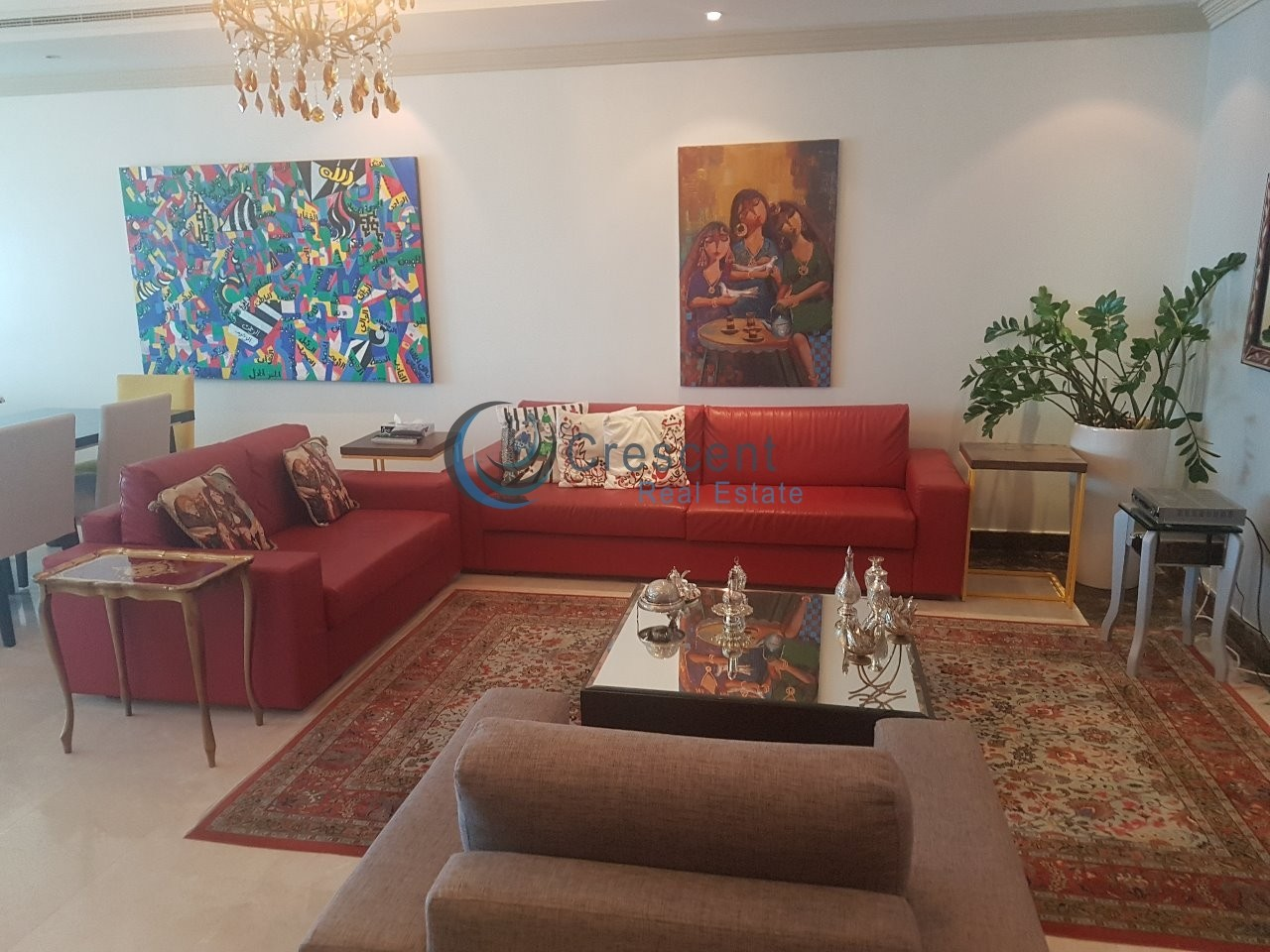 Excellently Furnished Sea and Palm Jumeirah View