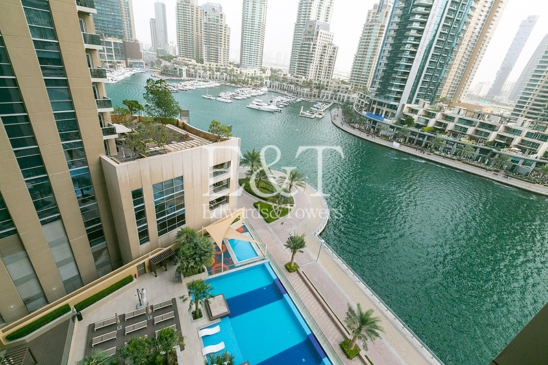 Best Priced 1 Bed in No. 9 | Marina View | Must See