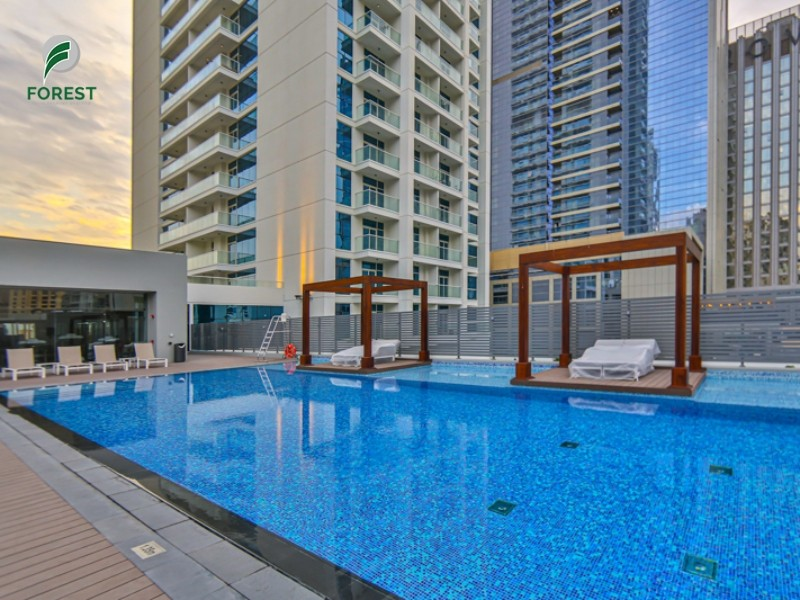 Spacious | Studio | Partial Sea View | Unfurnished