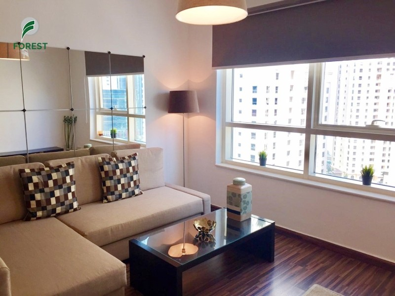 Upgraded | Fully Furnished | Vacant | High Floor