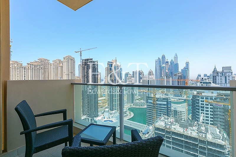 Exclusive Fully Furnished|High Floor|Full Marina View