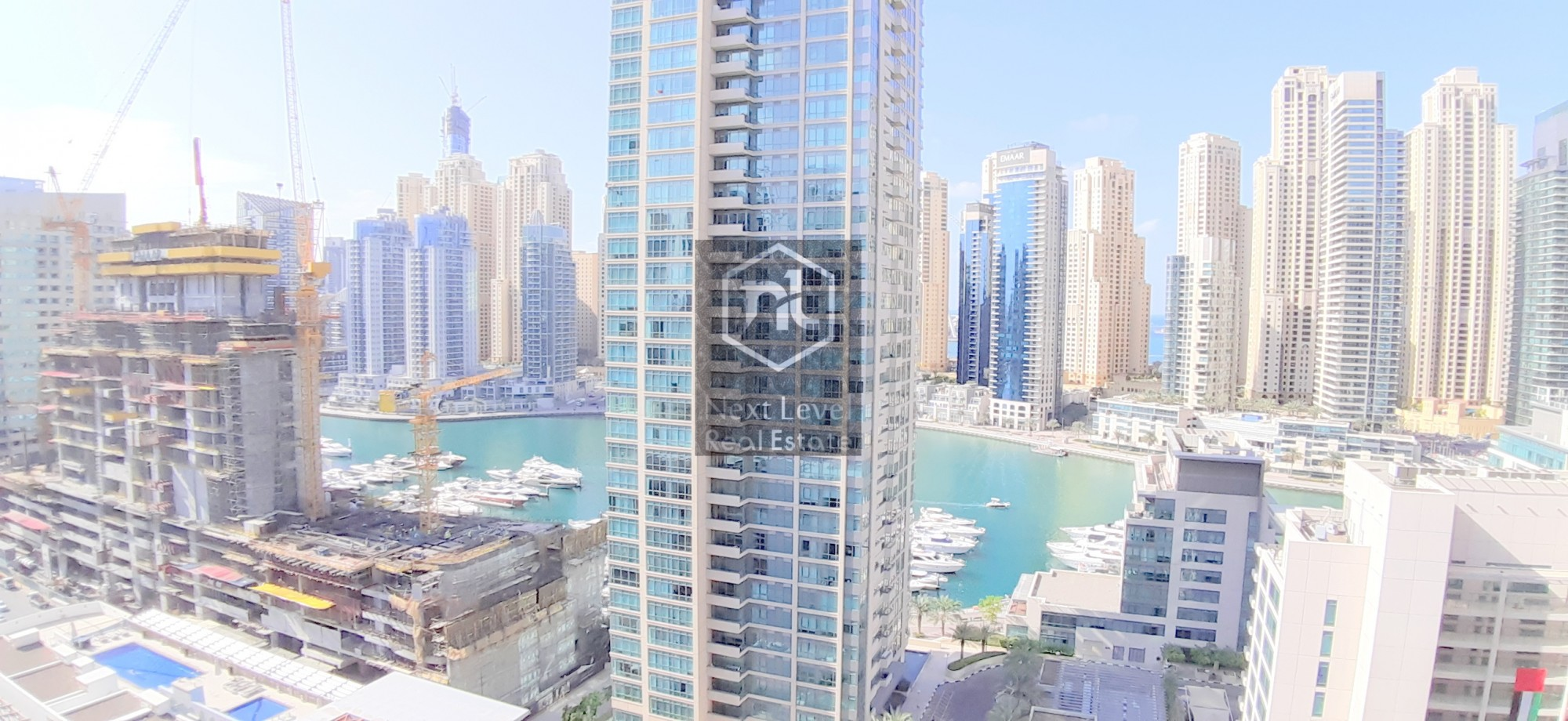 CHILLER FREE BEAUTIFULLY FURNISHED THREE BED ROOM IN DUBAI MARINA