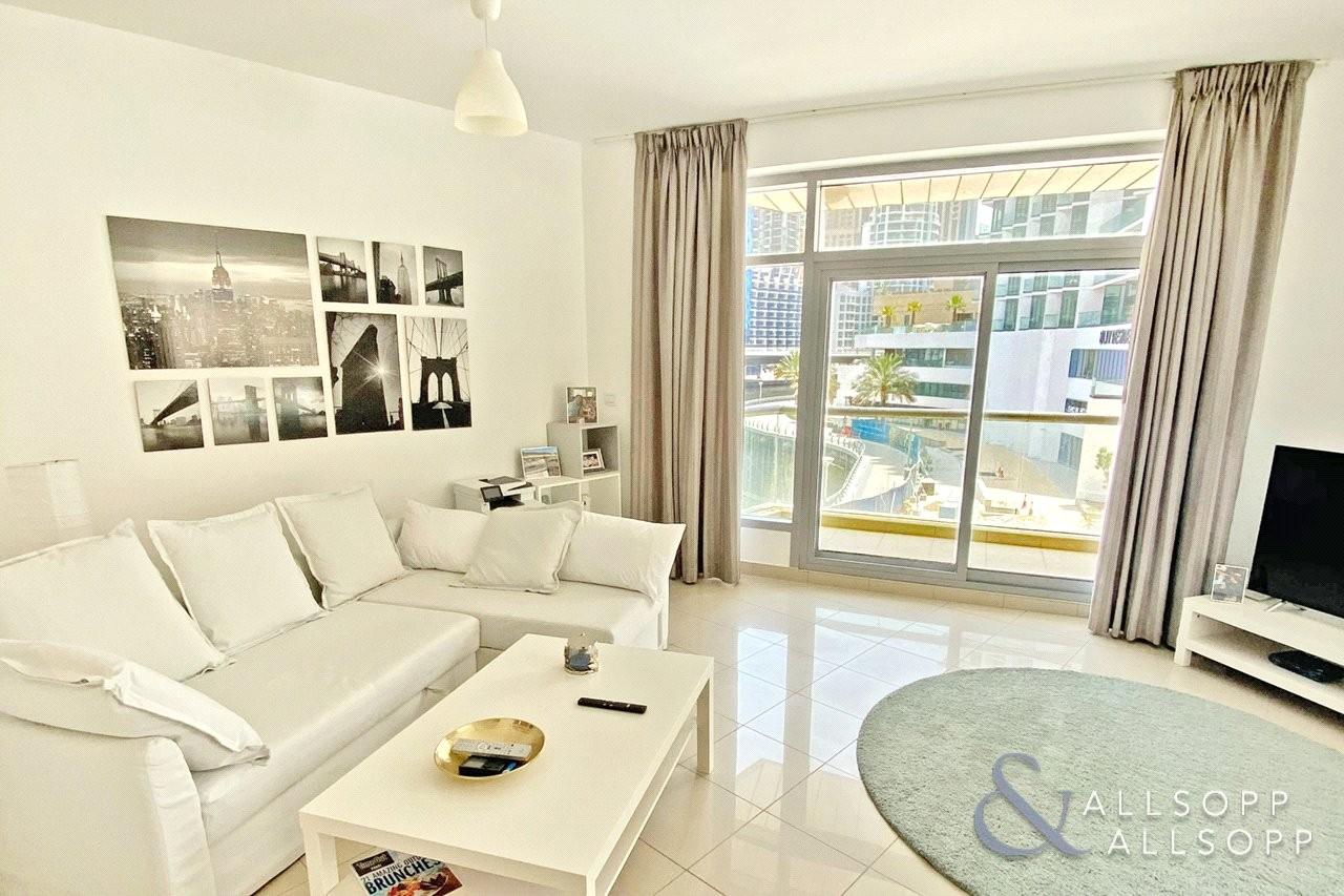 Marina Views | Spacious 1 Bed | Balcony