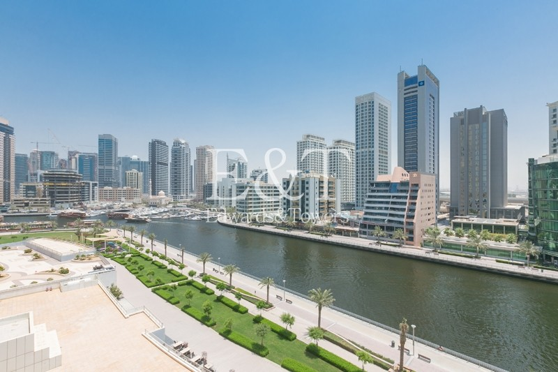 Available 1st August|Full Marina View|2 Parkings