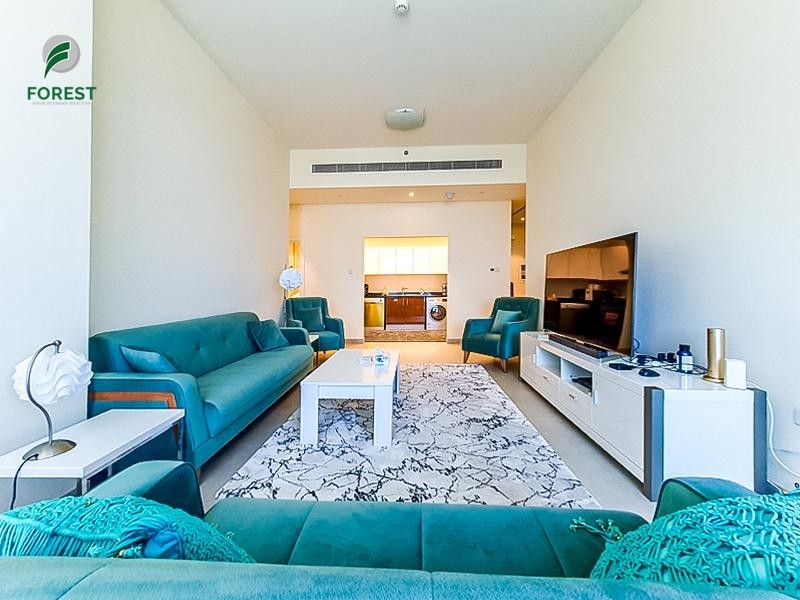 Fully Furnished 2BR with Atlantis and Sea view