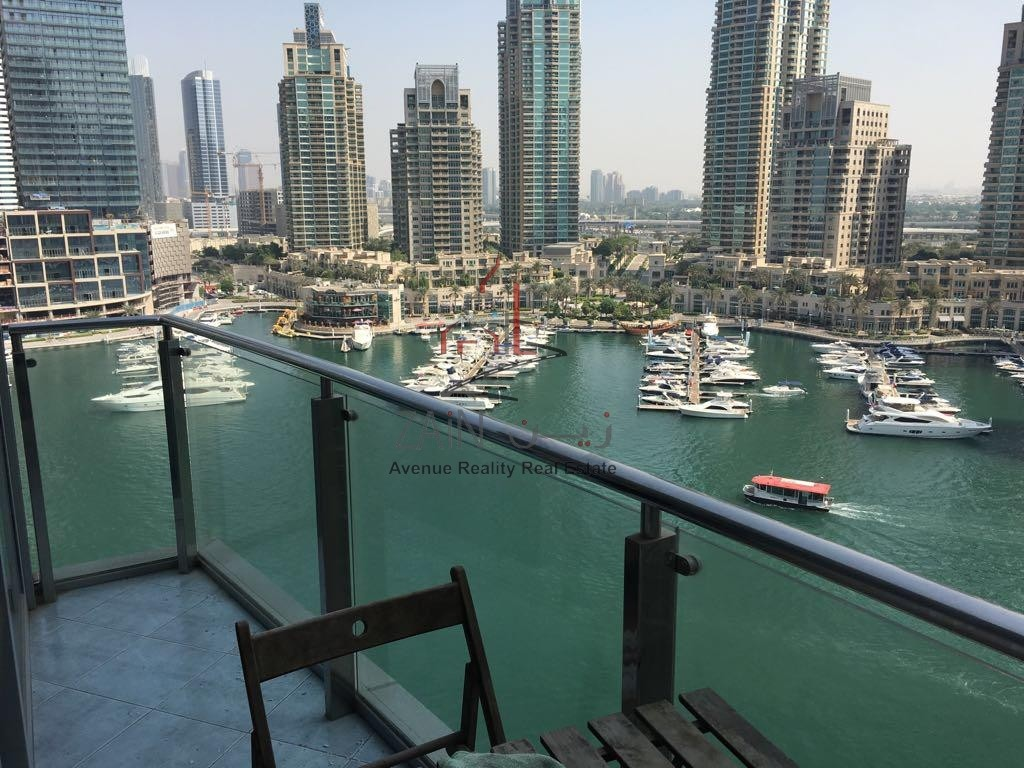 Full Marina View I Luxury Furnished I 1BR Apt I Best Tower