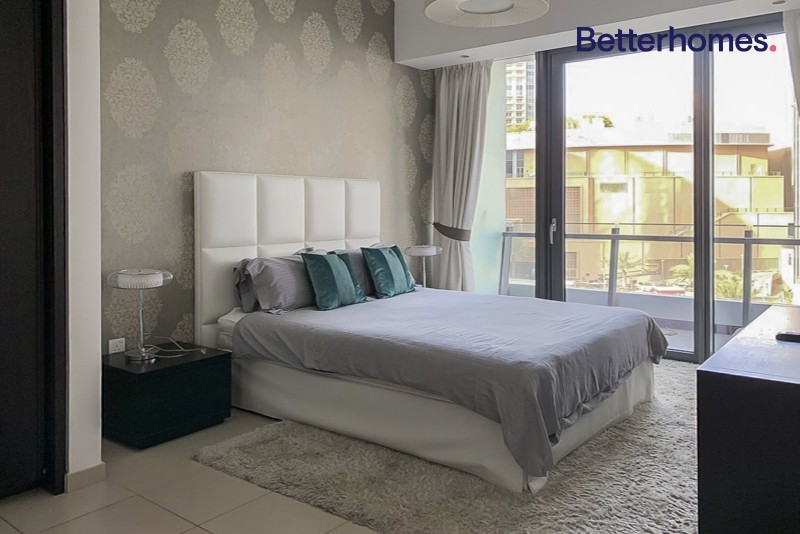Cozy furnished 2 bed | Marina view | Bright unit
