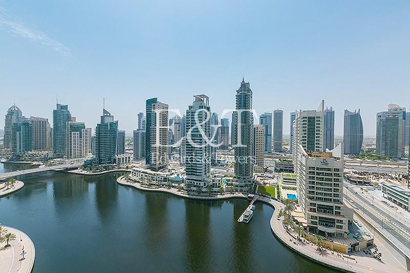 Luxury Building|Rare Unit|2BR+Maids|Full Marina View