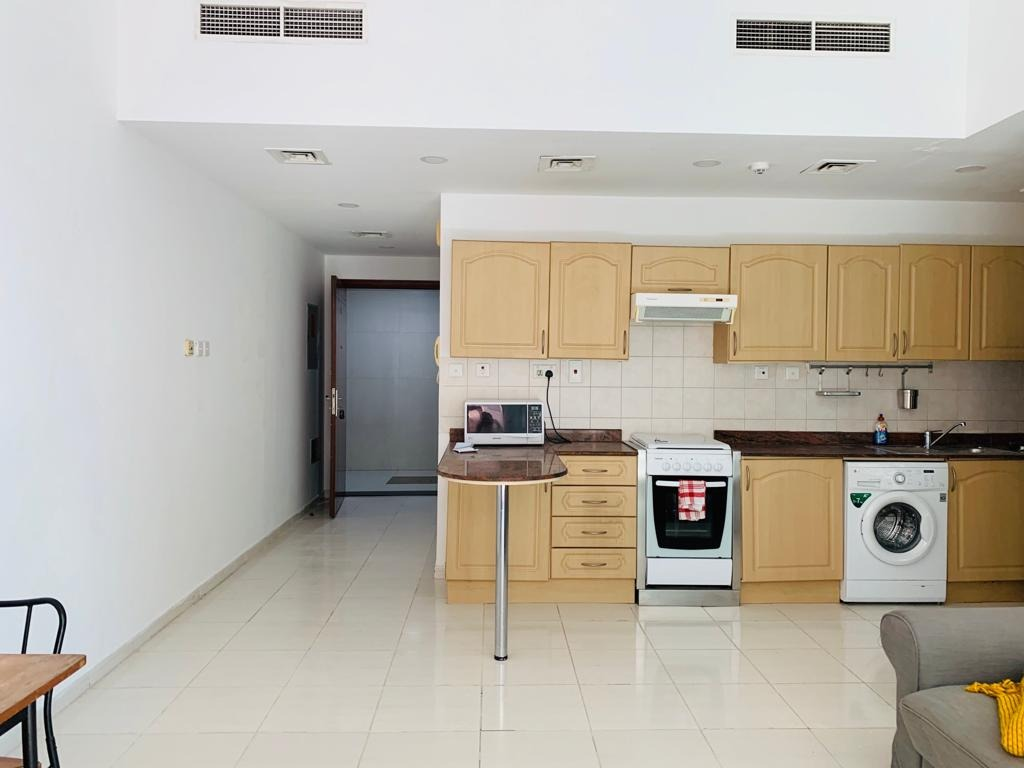 Pay AED3,000 Monthly | Pool Facing 1BR Apt. | Partly Furnished | Marina Park, Dubai Marina
