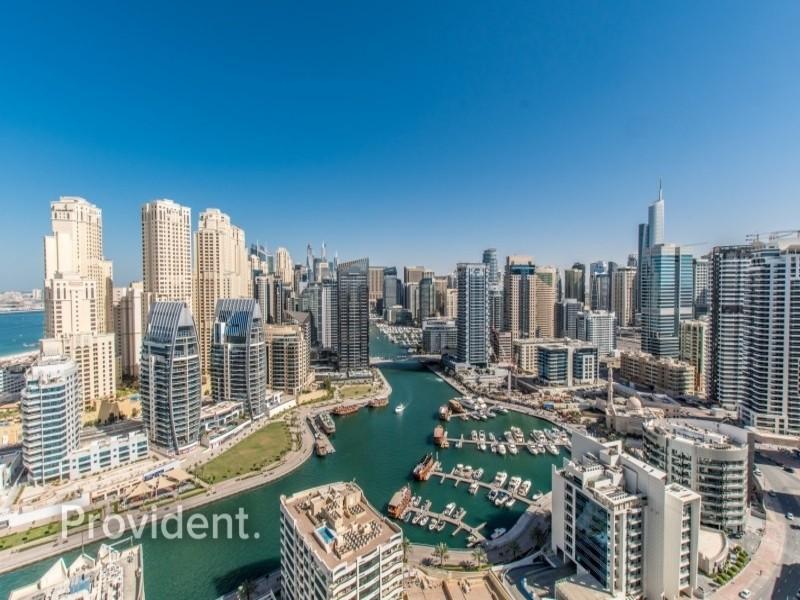 Marina and Sea Views | Vacant | Big Layout