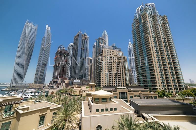 2 Bedroom+Study with Marina View in Al Anbar Tower