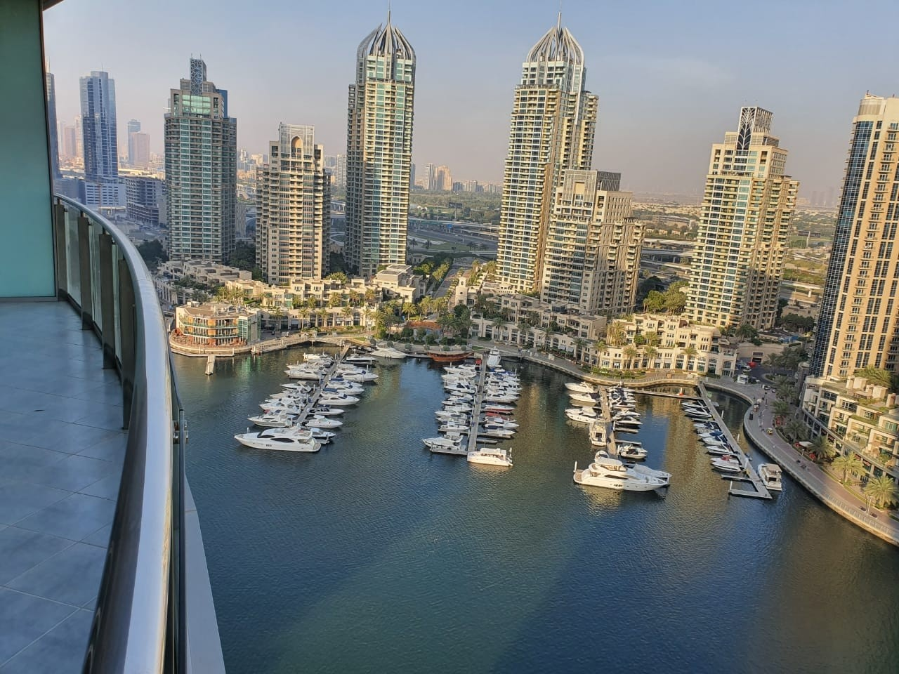 FULL MARINA VIEW|VACANT|FURNISHED 1 BR|LOWER FLOOR