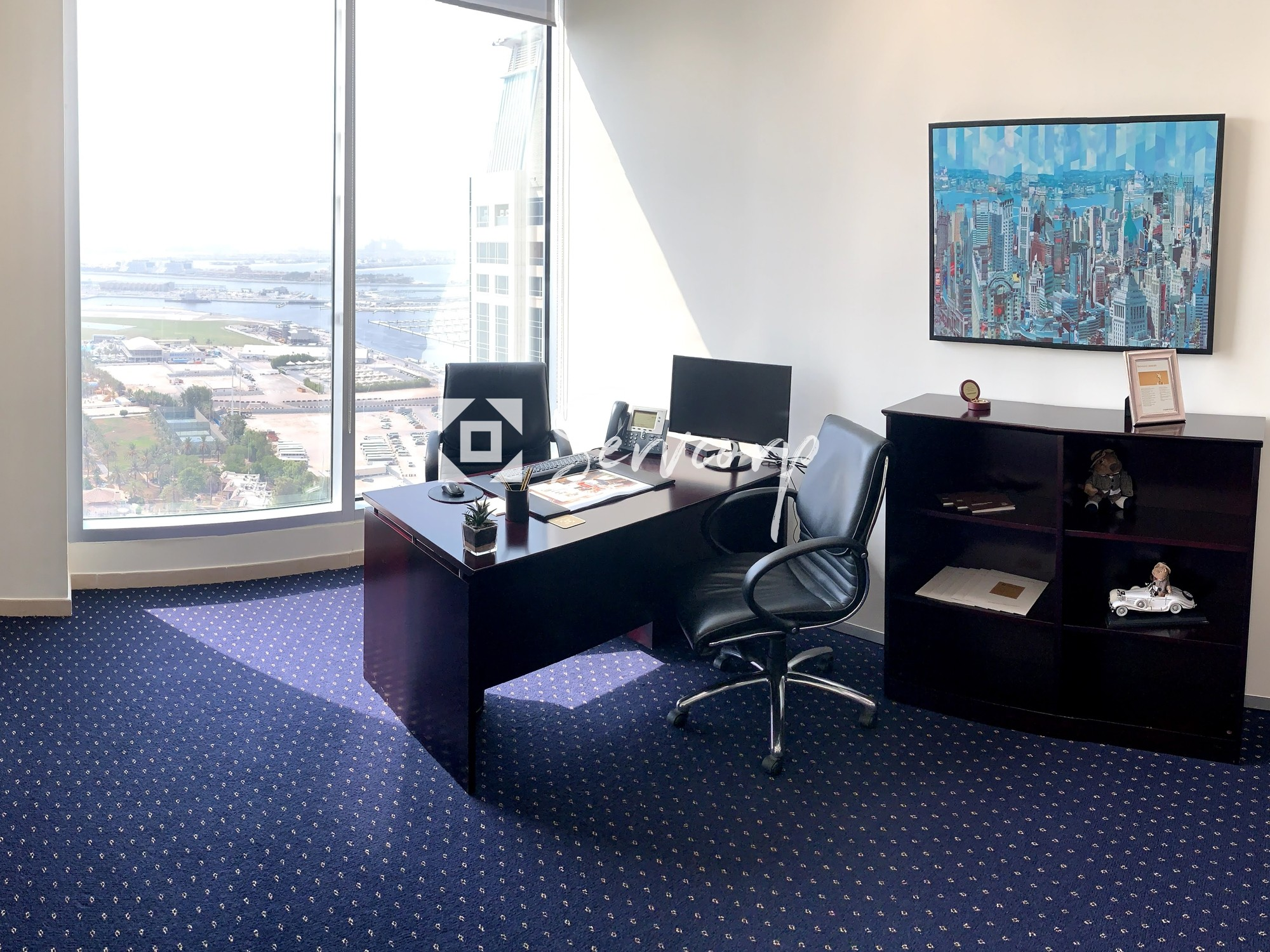 Luxurious fitted office in Dubai Marina