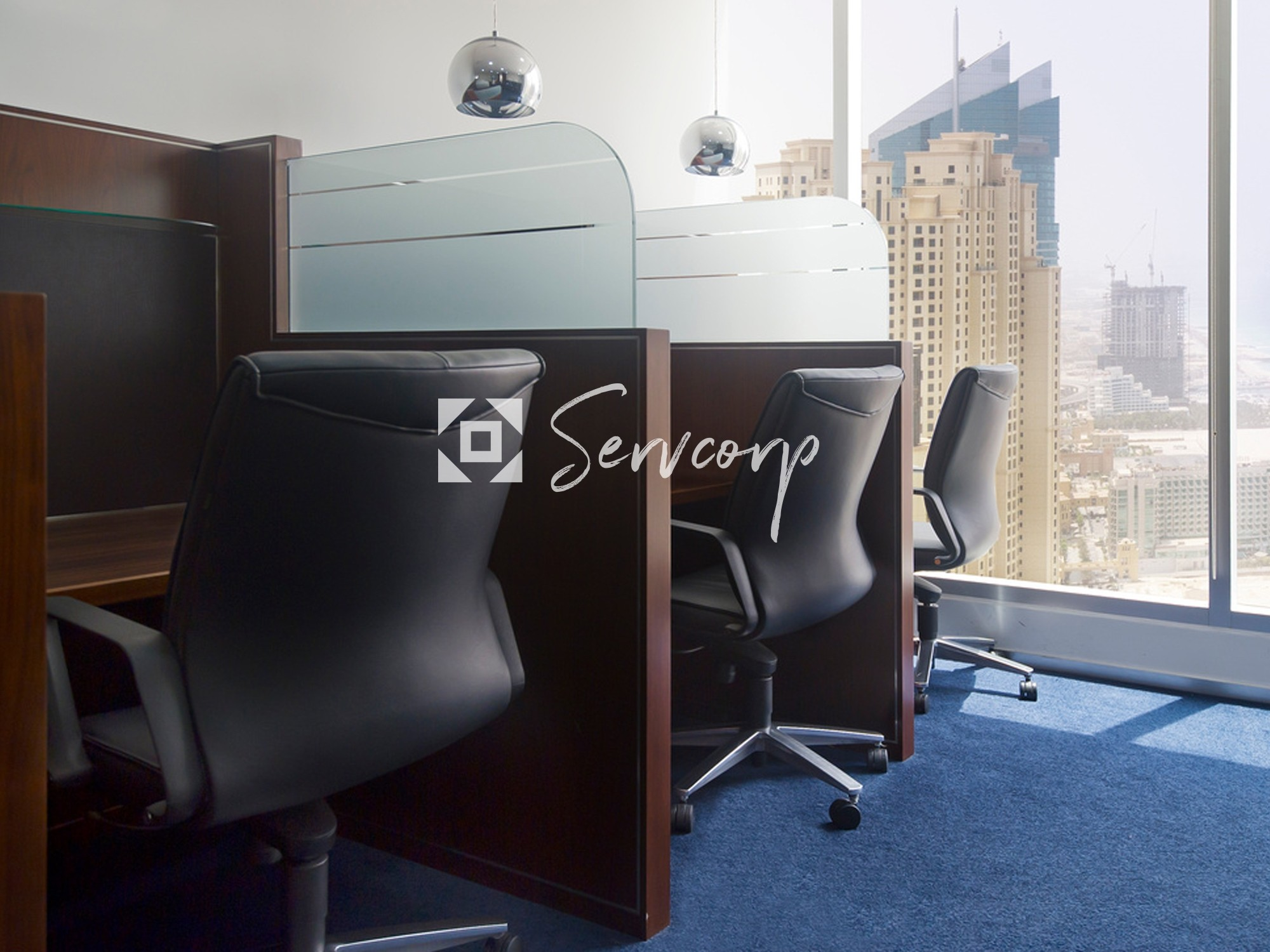 Fully fitted 1 to 4 persons office in Dubai Marina