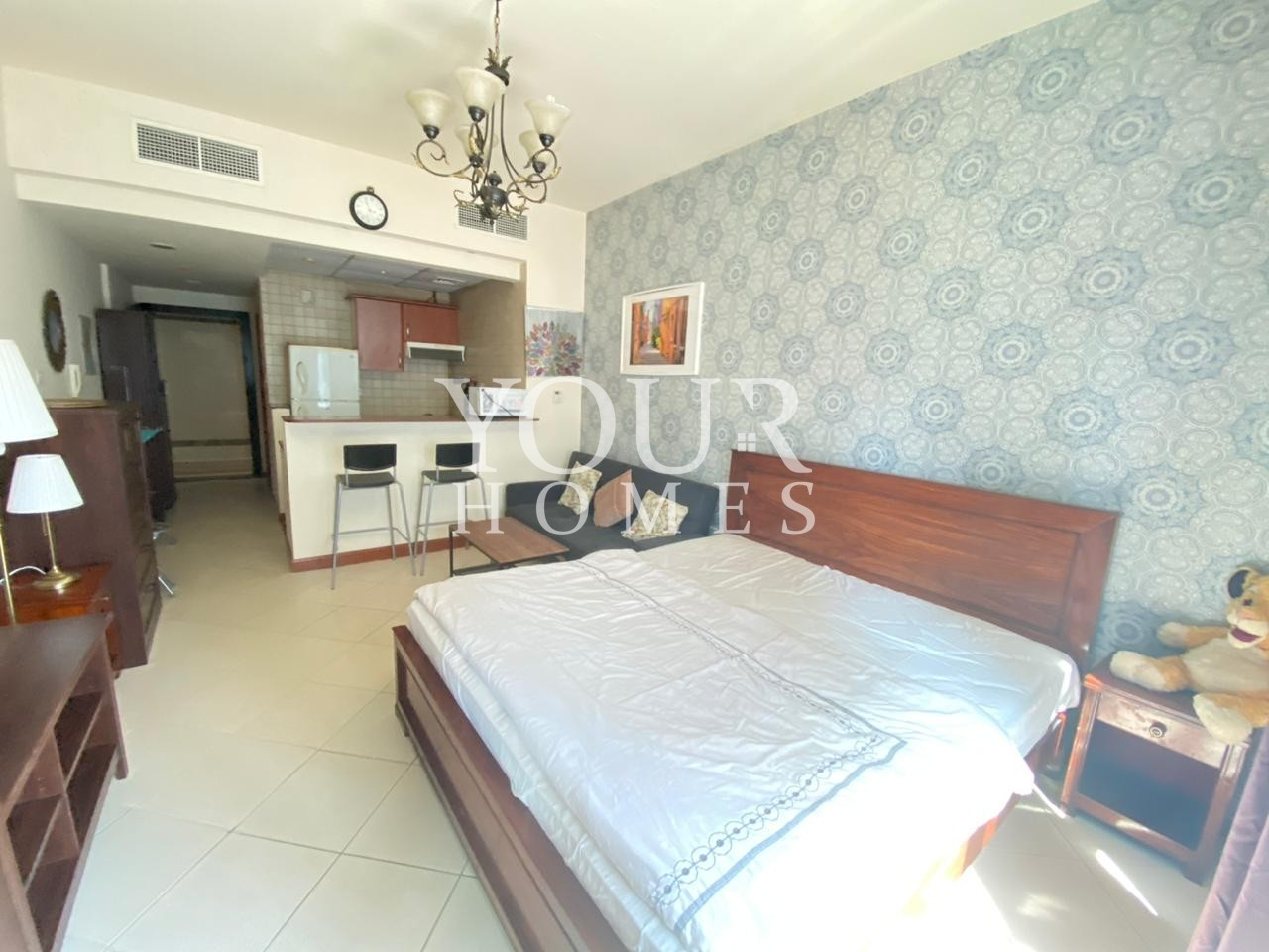 SO | Gas & AC free studio | Fully Furnished available from 15-08-2020 * 28k-38k *