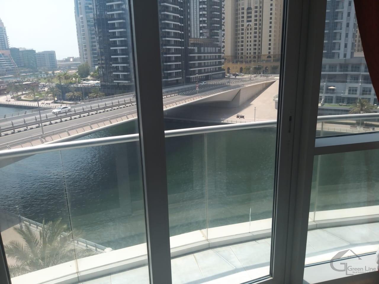 Furnished I Full Marina View I with store I 2 Big Balconies