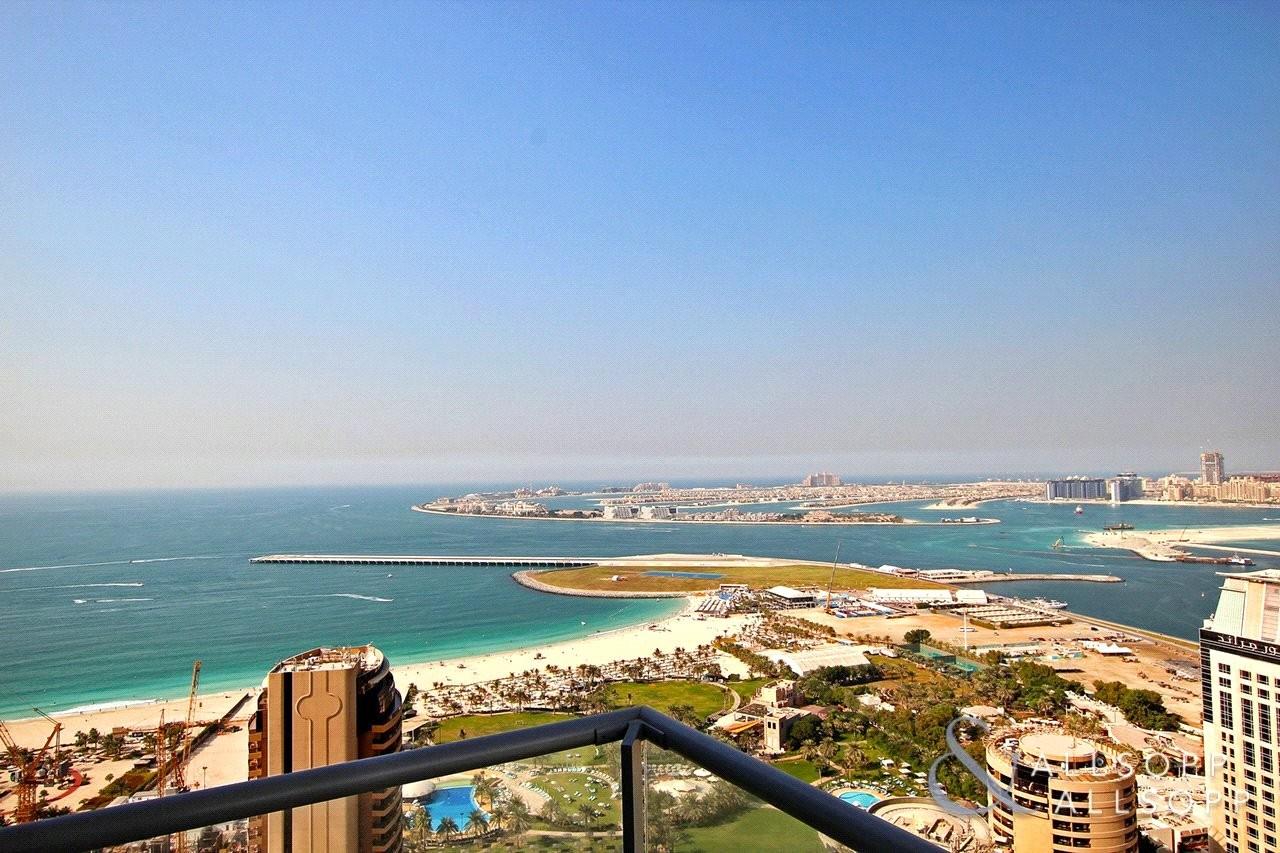 Full Sea Views | High Floor | Spacious 2 Bed