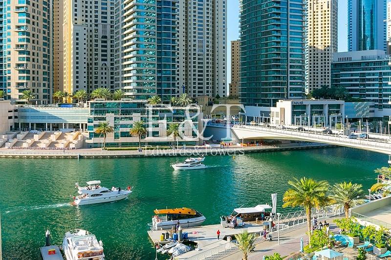 Exclusive | Full Marina View | 1 Bed | High Floor