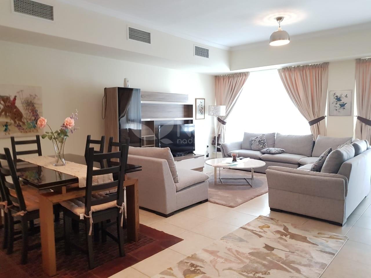 Furnished 2 BR + Study | Al Majara 1 | Dubai Marina