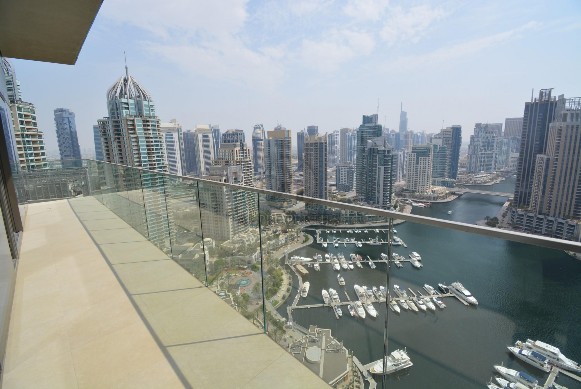 One of a Kind Corner Apartment   Full Marina View