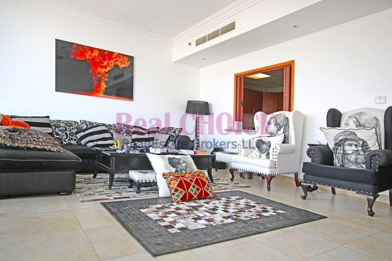 Fully Furnished 2BR Apartment|High Floor Unit
