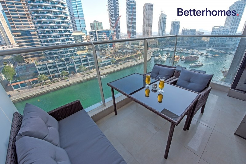Full Marina View | Low Floor | Maids