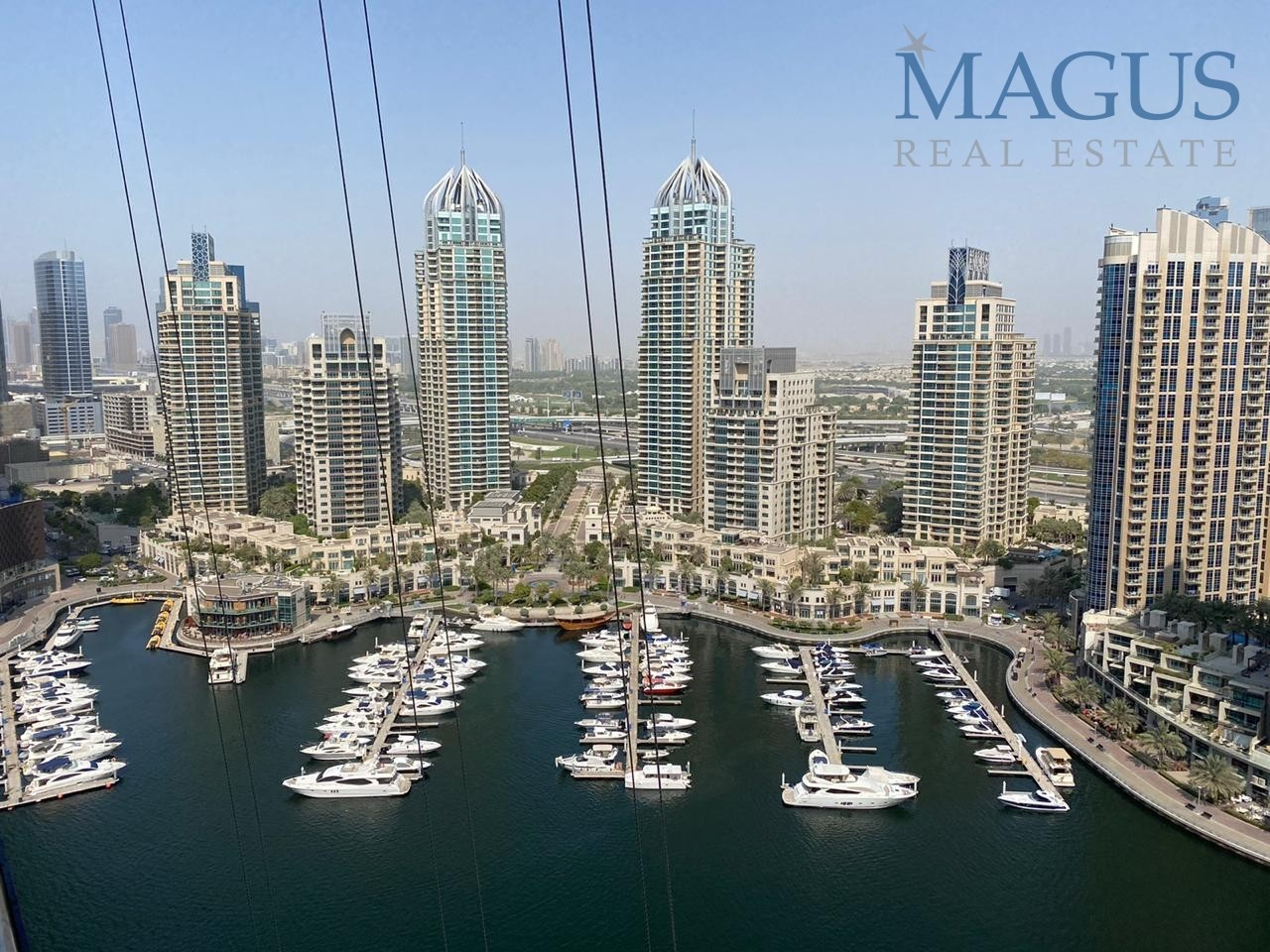 Full Marina view| Chiller free| Fully furnished