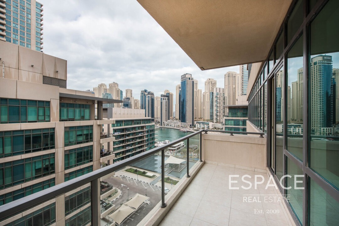 Marina View | AMC | Perfect Condition | 2Beds