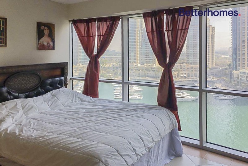 Fully Furnished | Full Marina View | Balcony