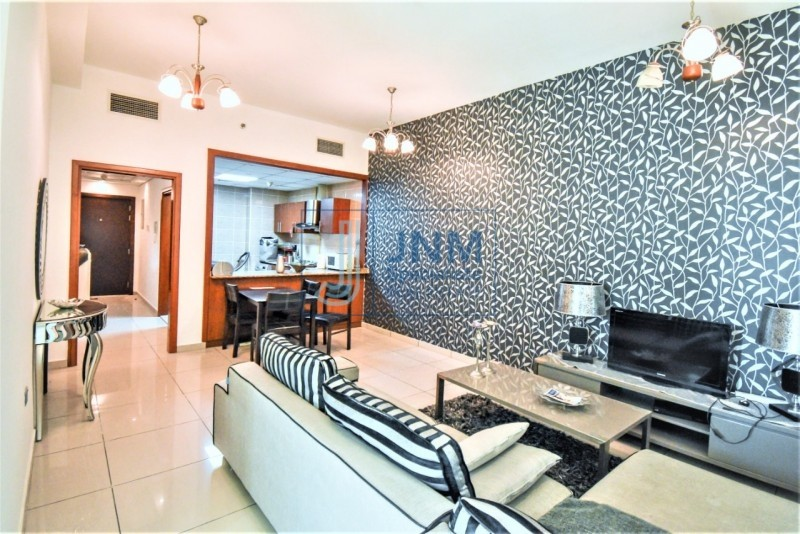 Fantastic Furnished 1 Bed with Balcony | Mid Floor