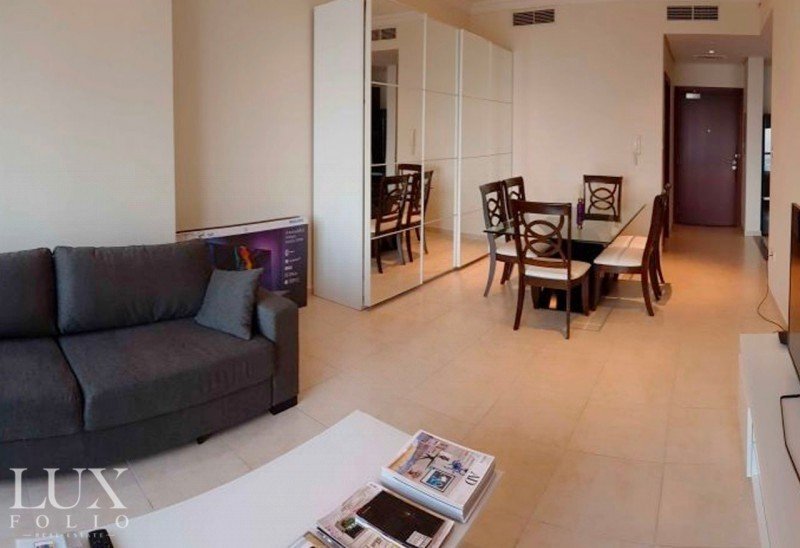 Furnished 1BR   Golf Course View   Huge  Balcony