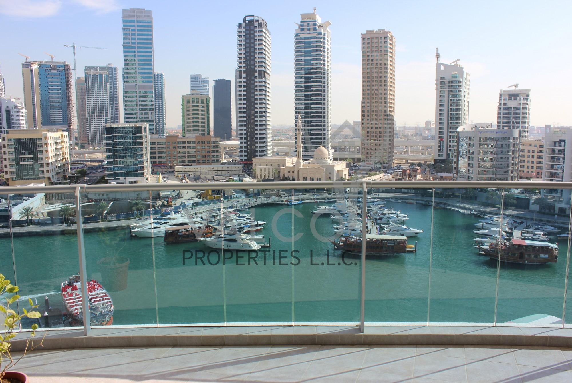 Huge 3BR+Maid | Full Marina View | Mid Floor