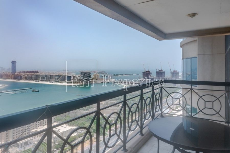 Panoramic Sea Views of Palm|High Floor|