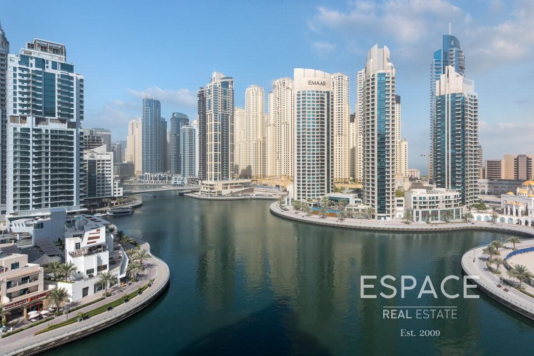 Full Marina View - Spacious - Unfurnished