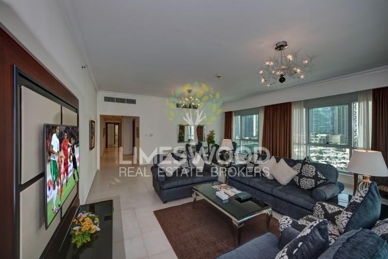 Full Marina View 3 BR Hotel Apartments Near Metro