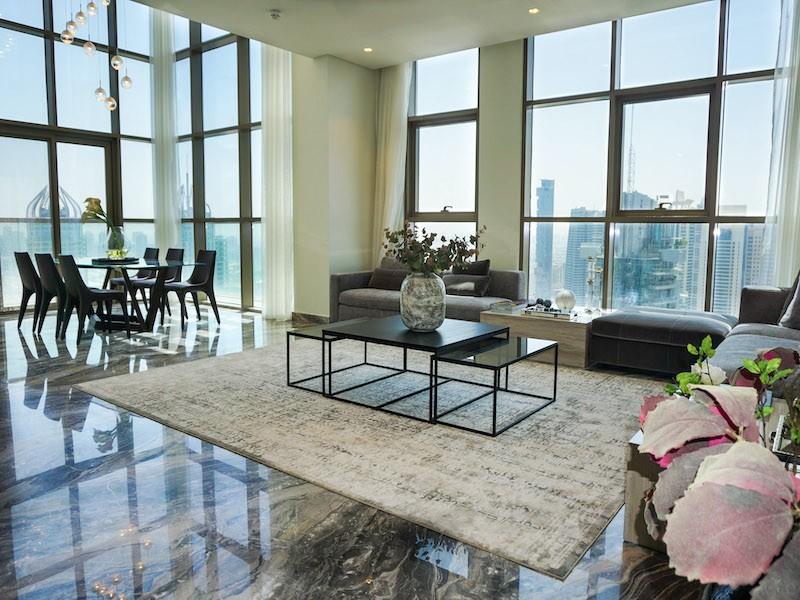 Incredible Duplex Penthouse with Marina Views