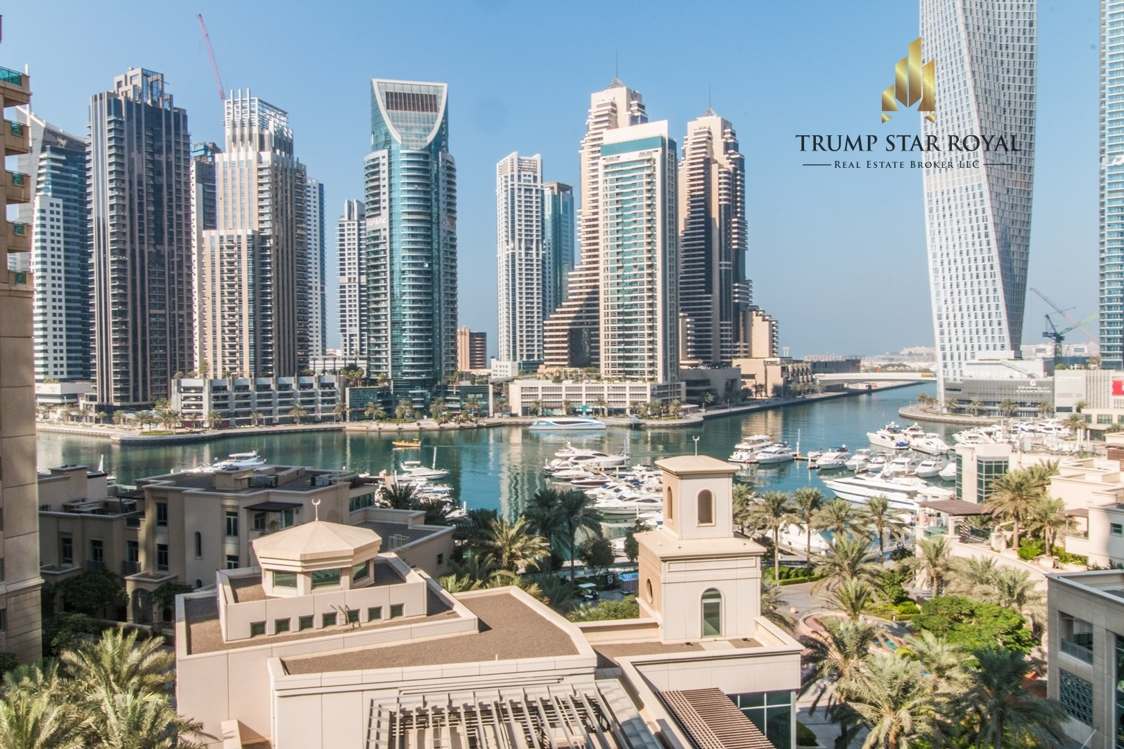 Full Marina View 2Br+Study in Emaar Six - Chiller Free