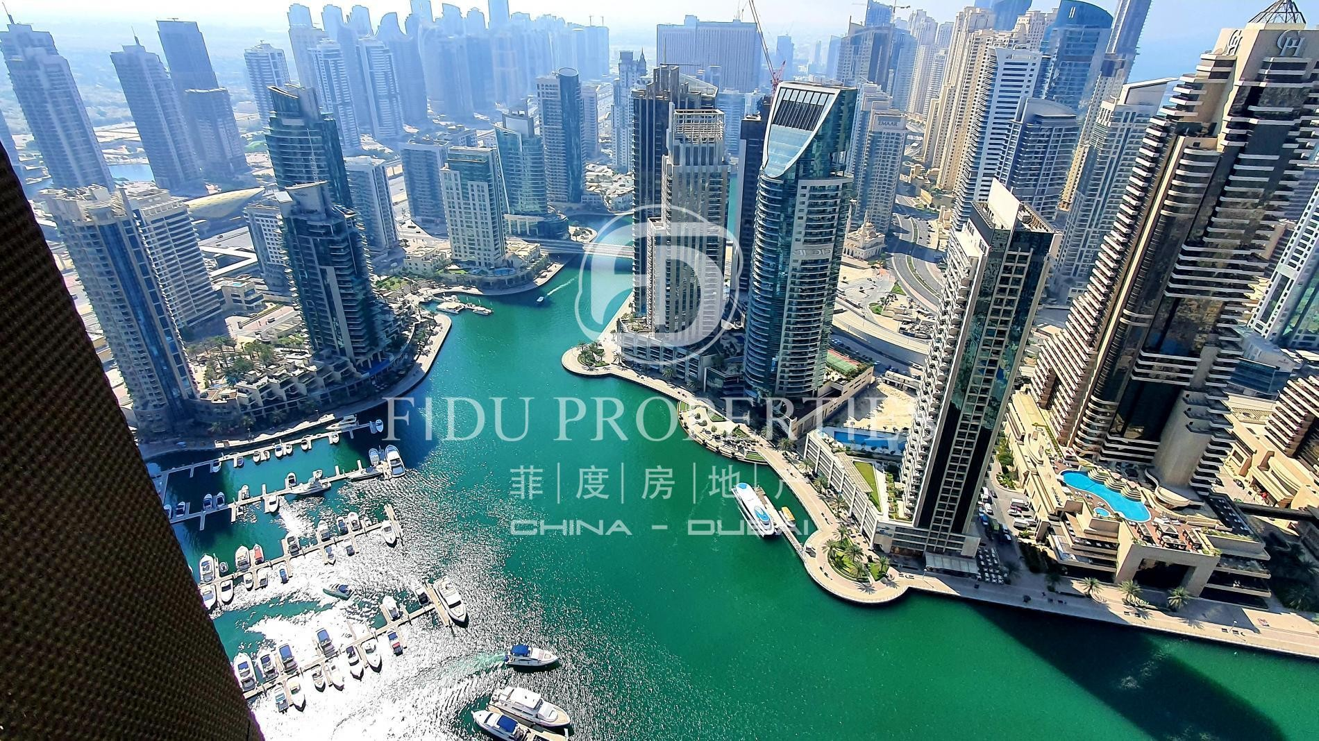 High Floor | Full Marina View | Fully Furnished