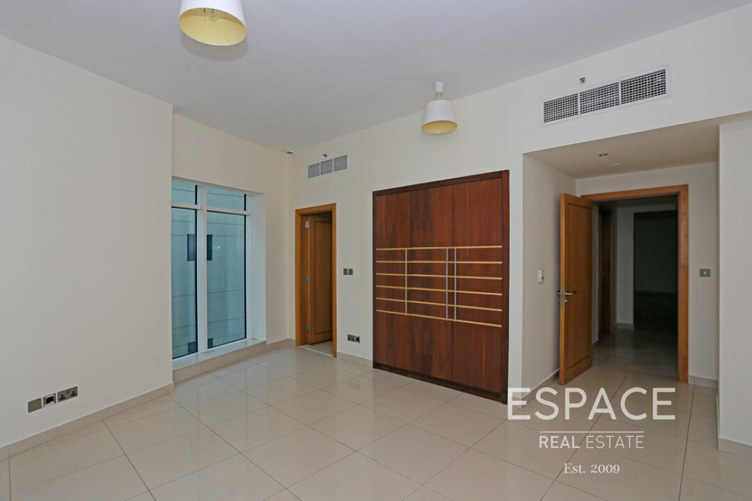 Pool View | Low Floor | Unfurnished | Vacant
