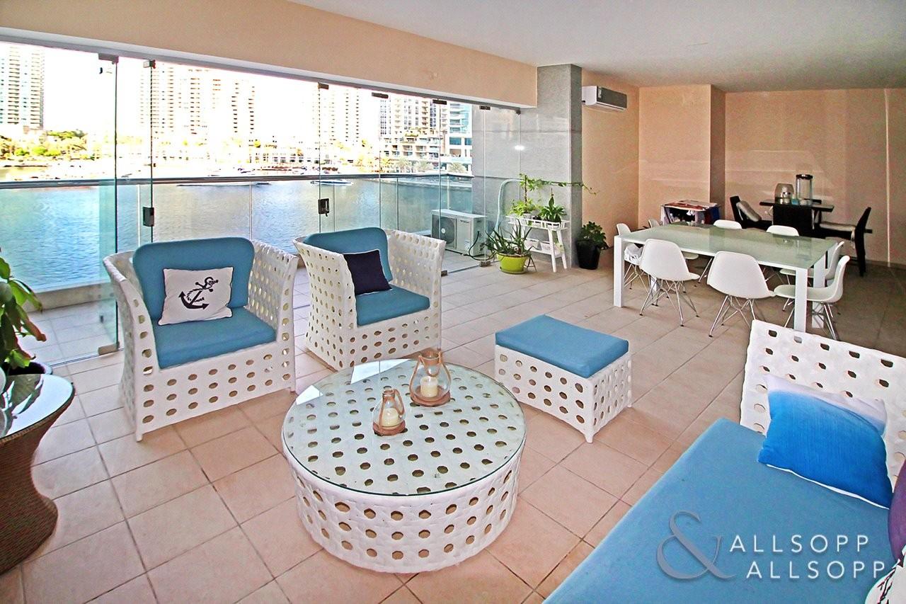 Indoor Terrace | Panoramic Marina Views