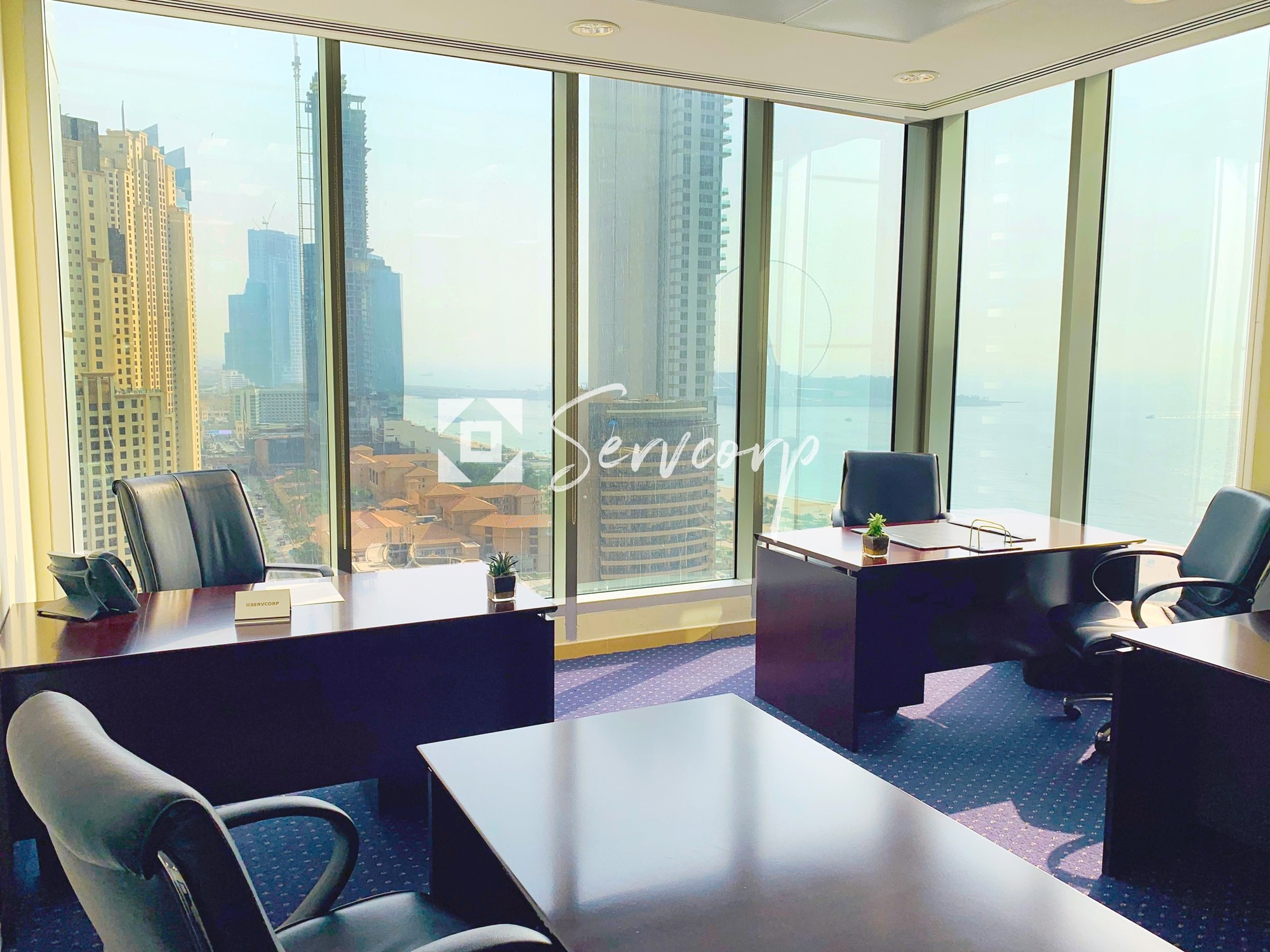 Fully fitted office in Al Habtoor Business Tower - Dubai Marina