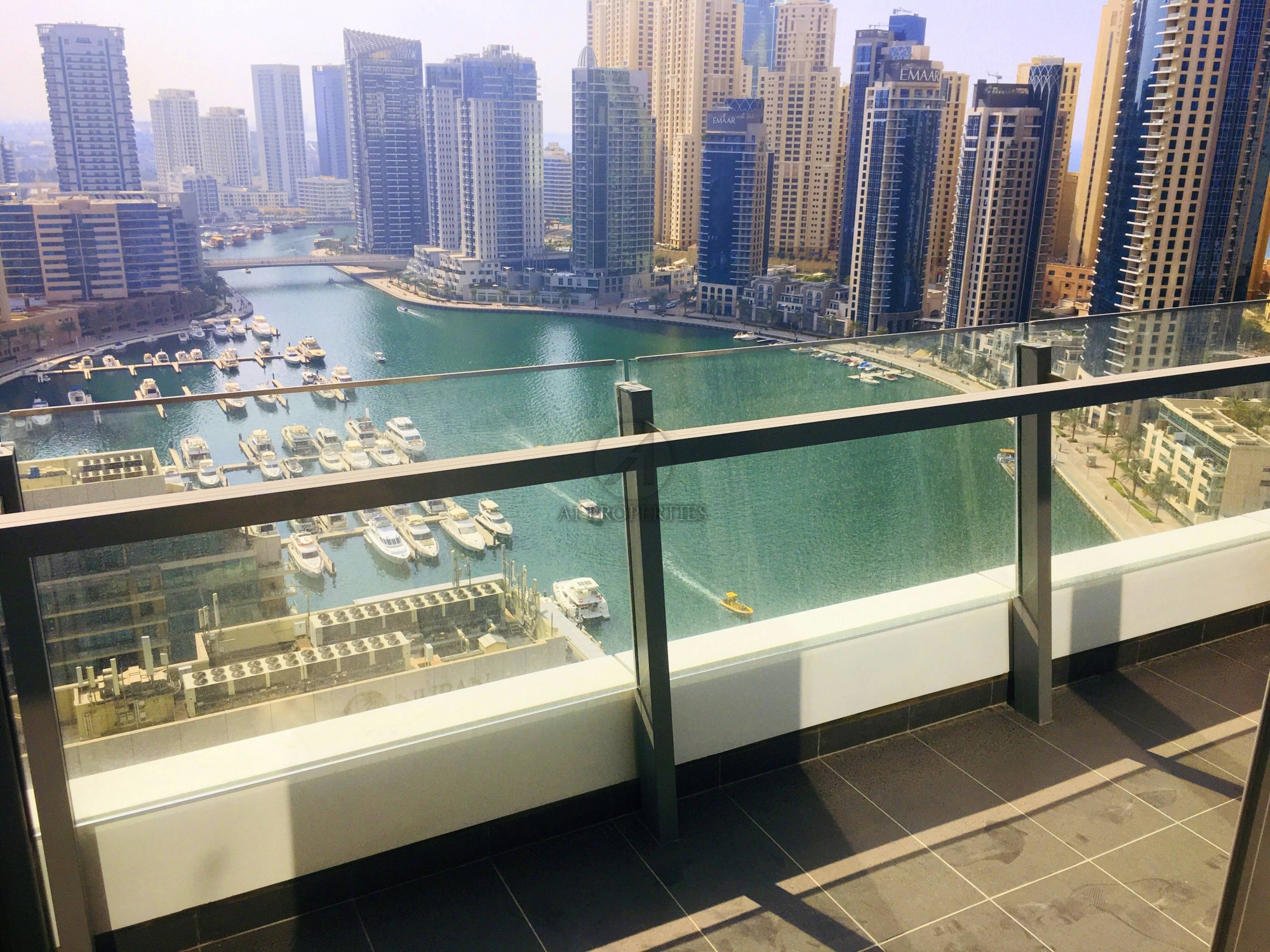 Furnished 3 BR - Full Marina From All Rooms