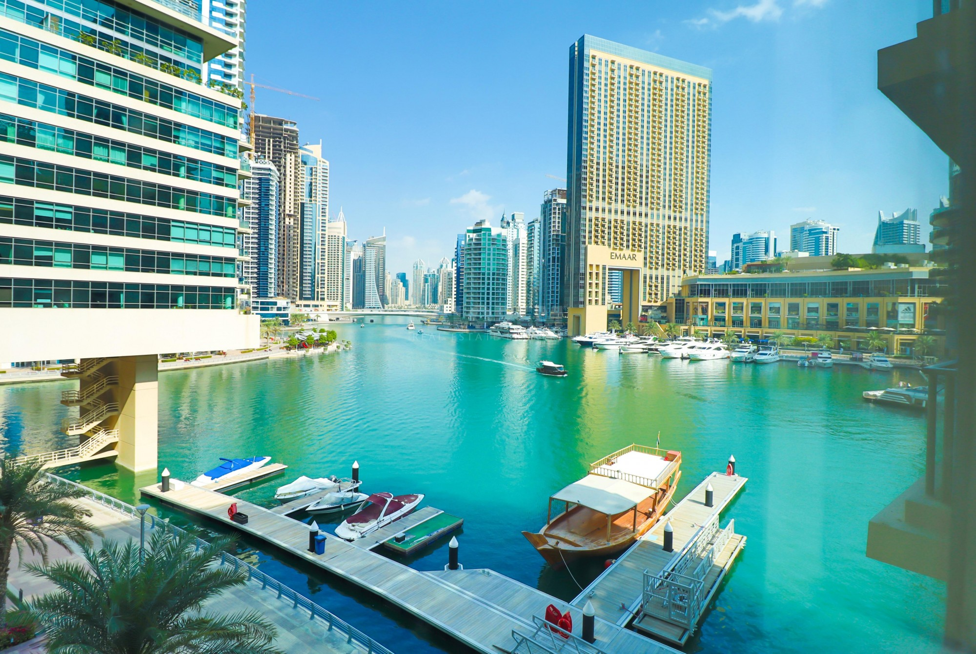 FULL MARINA VIEW|1BEDROOM|UNFURNISHED|CHILLER FREE