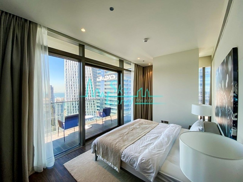 3-BR Apartment in Marina | Luxury Jumeirah Hotel | Marina Gate