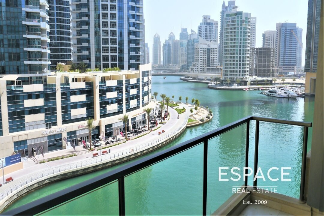 Two Beds | Partial Marina View | Rented