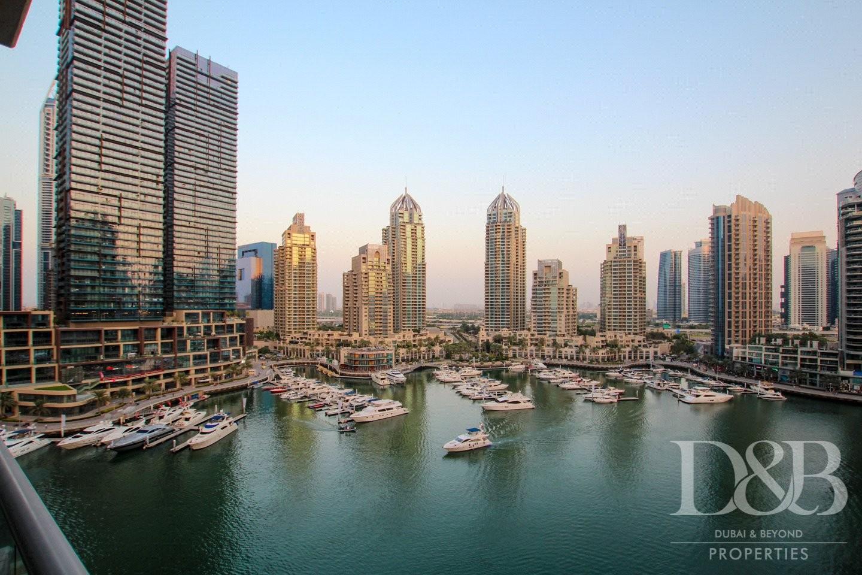 Stunning Marina View | Large Layout 2 Bed